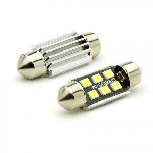 LIMOX LED Soffitte C5W 41mm 6x 2835 SMD Weiß