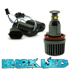 LED Angel Eyes Lampen BMW H8 40W Weiß