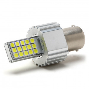 LED Metalsockel P21W Ba15s 30x 3030 SMD Weiß 100 % Canbus Inside