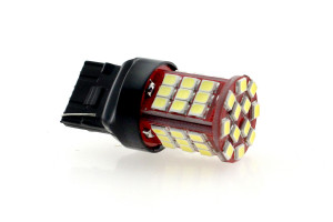 LED Lampe Birne W21W T20 48x 2835 SMD Weiß Canbus