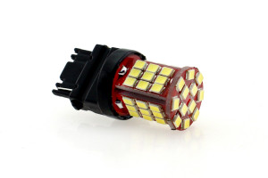 LED Lampe Birne P27W W2,5x16d 48x 2835 SMD Weiß Canbus